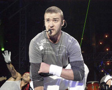 This is an image of 258096 Justin Timberlake Photograph & Poster
