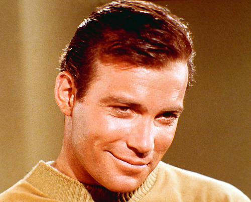 This is an image of 266523 William Shatner Photograph & Poster