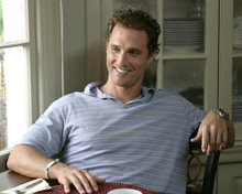 This is an image of 269470 Matthew McConaughey Photograph & Poster