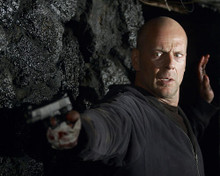 This is an image of 269950 Bruce Willis Photograph & Poster