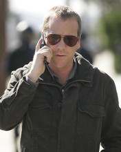 This is an image of 272109 Kiefer Sutherland Photograph & Poster