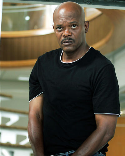 This is an image of 273197 Samuel L.Jackson Photograph & Poster