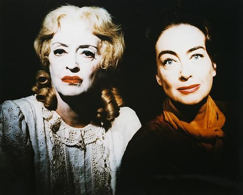This is an image of 24271 Bette Davis & Joan Crawford Photograph & Poster