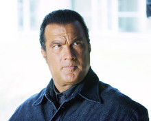 This is an image of 275531 Steven Seagal Photograph & Poster