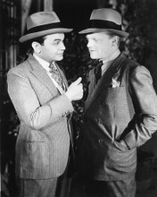 This is an image of 171226 James Cagney & Edward G. Robinson Photograph & Poster