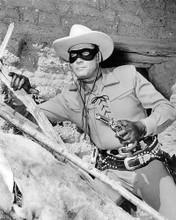 This is an image of 194505 Clayton Moore Photograph & Poster