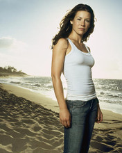 This is an image of 269342 Evangeline Lilly Photograph & Poster