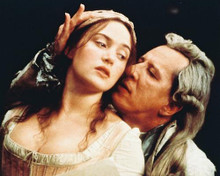 This is an image of 245756 Kate Winslet & Geoffrey Rush Photograph & Poster