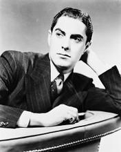 This is an image of 164779 Tyrone Power Photograph & Poster