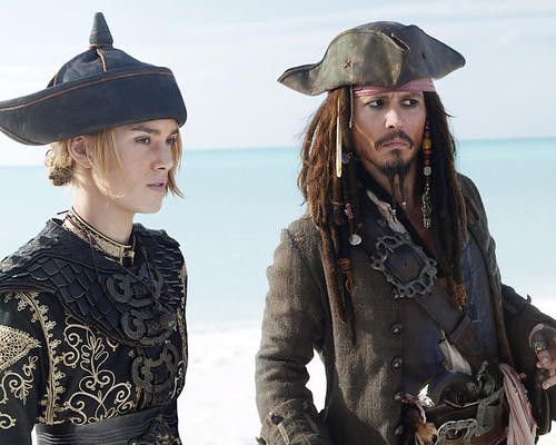 This is an image of 275393 Pirates of the Caribbean 3 Photograph & Poster