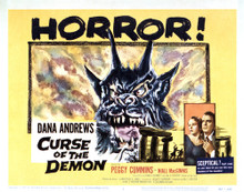 This is an image of Vintage Reproduction Lobby Card of Curse of the Demon 295003