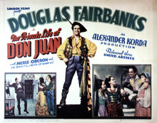 This is an image of Vintage Reproduction Lobby Card of The Private Life of Don Juan 295014