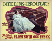 This is an image of Vintage Reproduction Lobby Card of The Private Lives of Elizabeth and Essex 295016