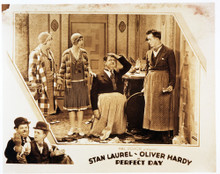 This is an image of Vintage Reproduction Lobby Card of Perfect Day 295017