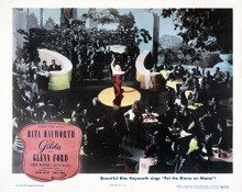 This is an image of Vintage Reproduction Lobby Card of Gilda 295025