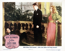 This is an image of Vintage Reproduction Lobby Card of Gilda 295026