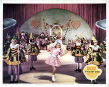 This is an image of Vintage Reproduction Lobby Card of My Lucky Star 295030