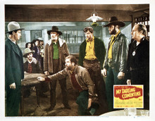 This is an image of Vintage Reproduction Lobby Card of My Darling Clementine 295036