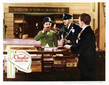 This is an image of Vintage Reproduction Lobby Card of Modern Times 295043