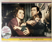 This is an image of Vintage Reproduction Lobby Card of Mrs. Miniver 295045