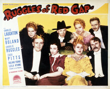 This is an image of Vintage Reproduction Lobby Card of Ruggles of Red Gap 295068