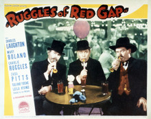 This is an image of Vintage Reproduction Lobby Card of Ruggles of Red Gap 295070