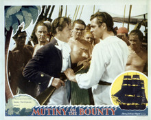 This is an image of Vintage Reproduction Lobby Card of Mutiny on the Bounty 295241