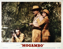 This is an image of Vintage Reproduction Lobby Card of Mogambo 295242