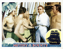This is an image of Vintage Reproduction Lobby Card of Mutiny on the Bounty 295243