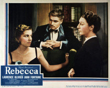 This is an image of Vintage Reproduction Lobby Card of Rebecca 295252