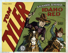 This is an image of Vintage Reproduction Lobby Card of Idaho Red 295259