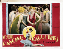 This is an image of Vintage Reproduction Lobby Card of Our Dancing Daughters 295261
