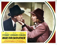 This is an image of Vintage Reproduction Lobby Card of Made for Each Other 295266