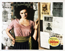 This is an image of Vintage Reproduction Lobby Card of The Outlaw 295268