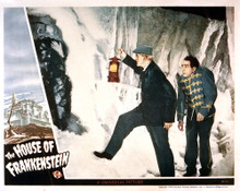 This is an image of Vintage Reproduction Lobby Card of The House of Frankenstein 295272
