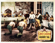 This is an image of Vintage Reproduction Lobby Card of The Private Life of Henry V11 295273