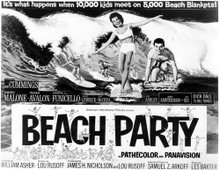 This is an image of Vintage Reproduction Lobby Card of Beach Party 101302