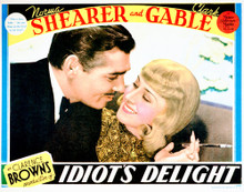This is an image of Vintage Reproduction Lobby Card of Idiot's Delight 296210