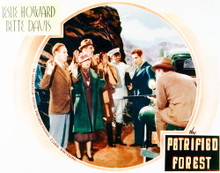 This is an image of Vintage Reproduction Lobby Card of Petrified Forest 296212