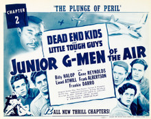 This is an image of Vintage Reproduction Lobby Card of Junior G-Men of the Air 296223