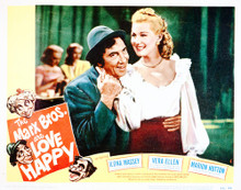 This is an image of Vintage Reproduction Lobby Card of Love Happy 296227