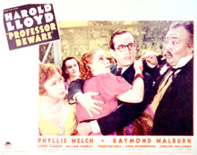This is an image of Vintage Reproduction Lobby Card of Professor Beware 296232