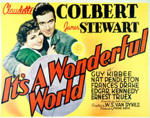 This is an image of Vintage Reproduction Lobby Card of Its a Wonderful World 296237