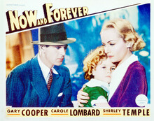 This is an image of Vintage Reproduction Lobby Card of Now and Forever 296245