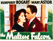 This is an image of Vintage Reproduction Lobby Card of The Maltese Falcon 296256