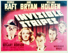 This is an image of Vintage Reproduction Lobby Card of Invisible Stripes 296258