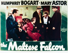 This is an image of Vintage Reproduction Lobby Card of The Maltese Falcon 296260
