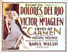 This is an image of Vintage Reproduction Lobby Card of Loves of Carmen 296270