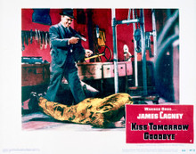 This is an image of Vintage Reproduction Lobby Card of Kiss Tomorrow Goodbye 296271