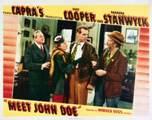 This is an image of Vintage Reproduction Lobby Card of Meet John Doe 296274